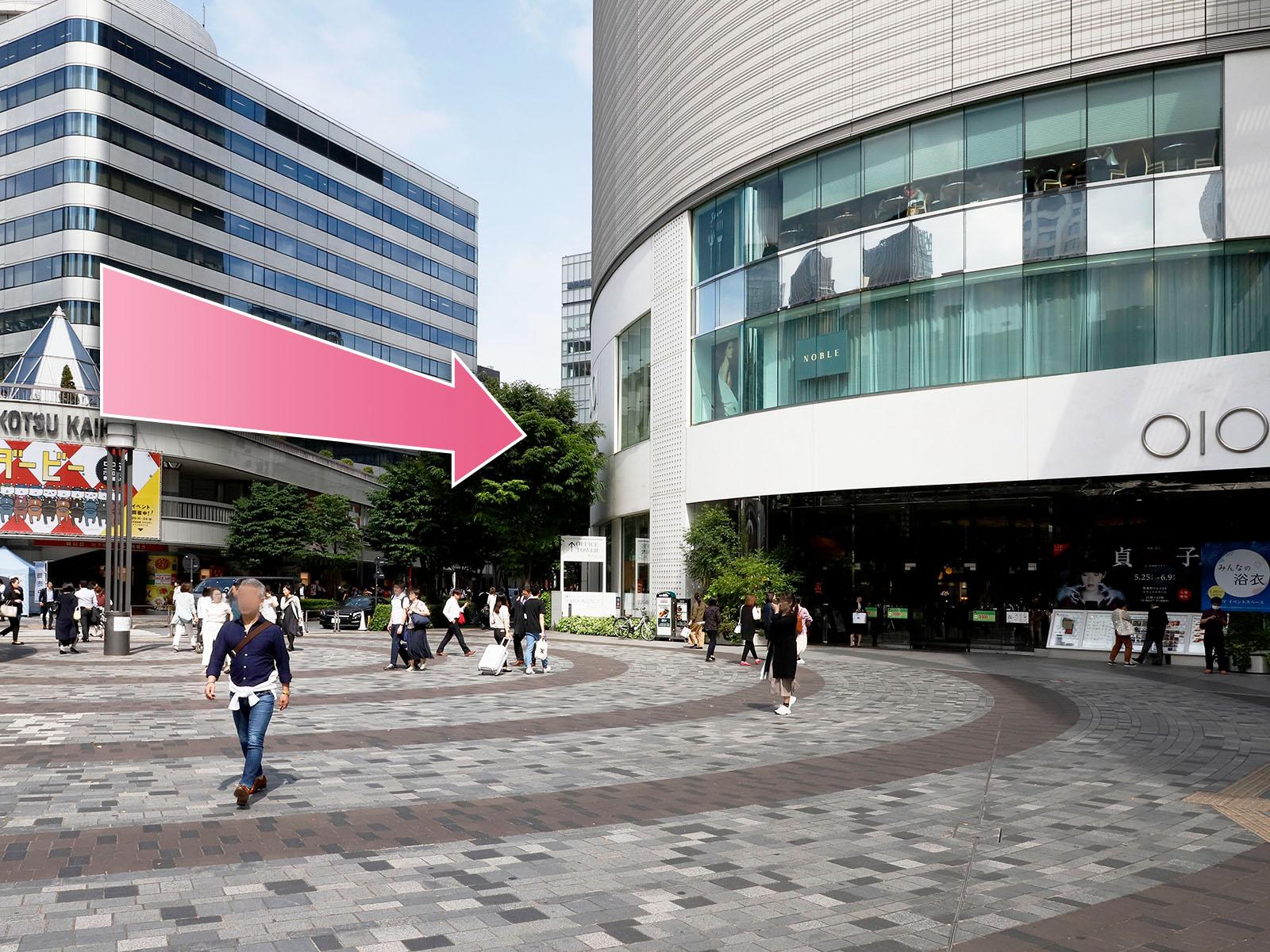 東京中央美容外科銀座院ルート