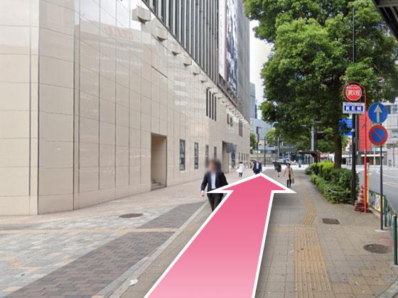 東京中央美容外科銀座有楽町院JRルート04