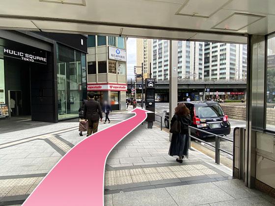 東京中央美容外科銀座有楽町院丸ノ内線ルート06