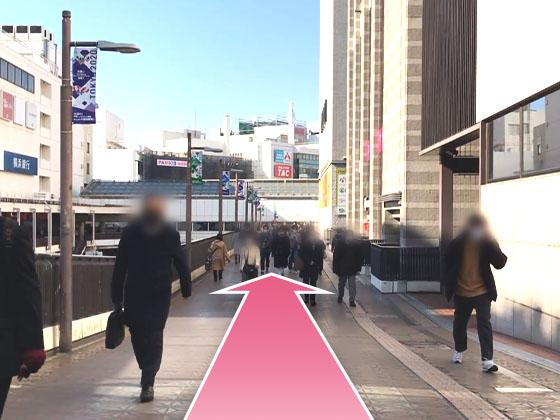 東京中央美容外科町田院JRルート03