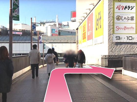 東京中央美容外科町田院JRルート04