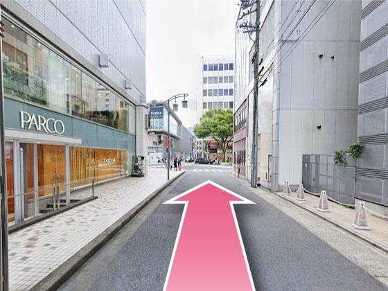 東京中央美容外科名古屋栄駅ルート02