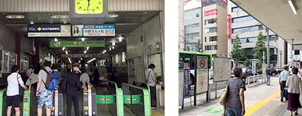 東京中央美容外科中野院JRルート01