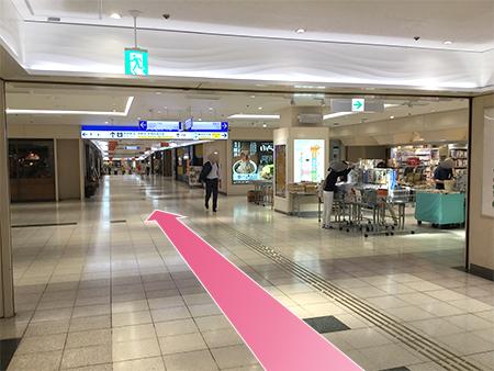 東京中央美容外科新宿院丸ノ内線ルート05