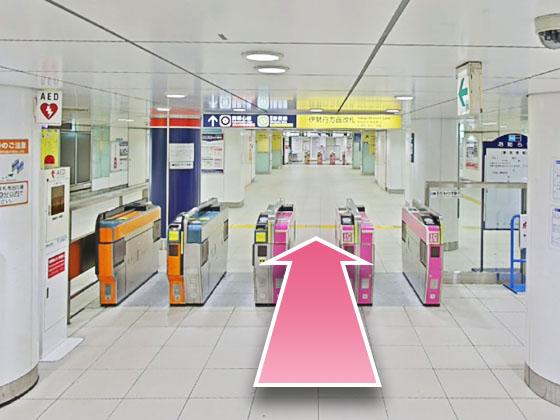 東京中央美容外科新宿三丁目院丸の内ルート01