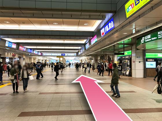 東京中央美容外科立川院JRルート02