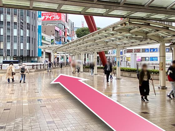 東京中央美容外科立川院JRルート04
