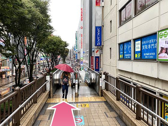 東京中央美容外科立川院JRルート07
