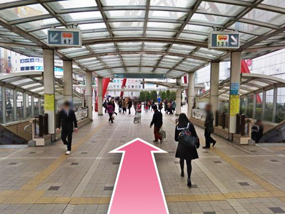 東京中央美容外科立川院モノレールルート04