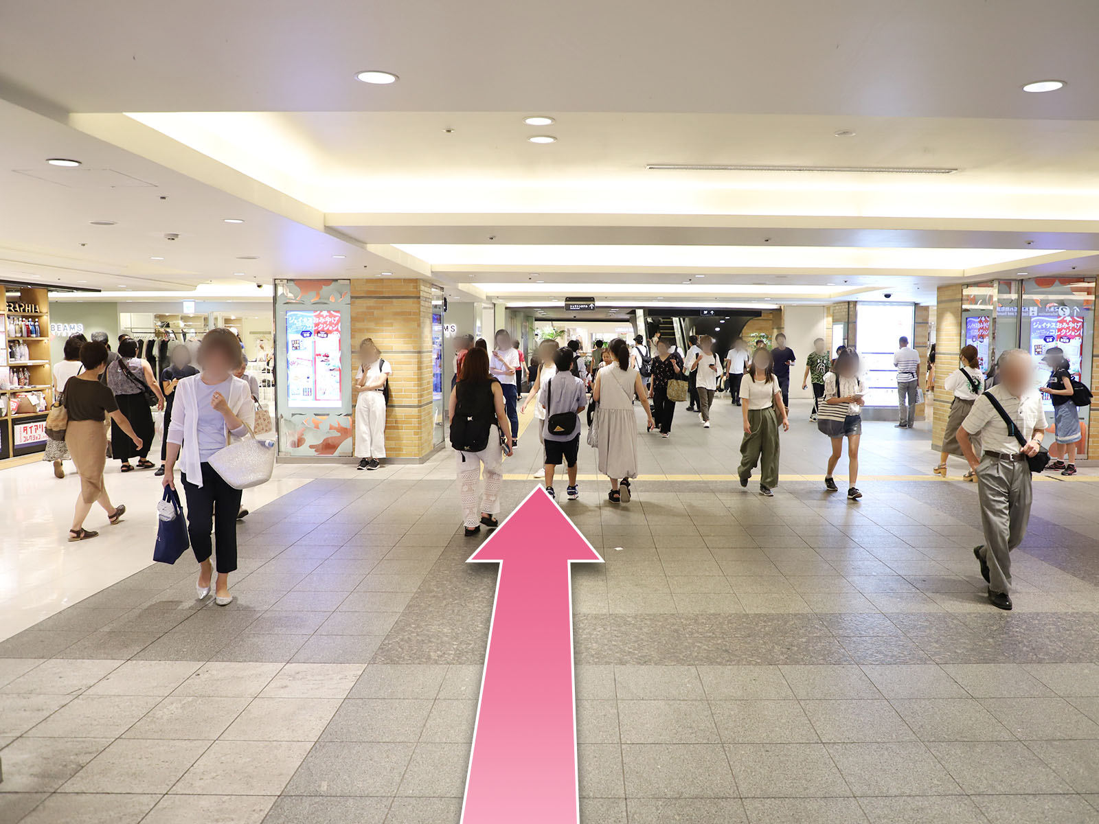 東京中央美容外科横浜院相鉄線ルート01