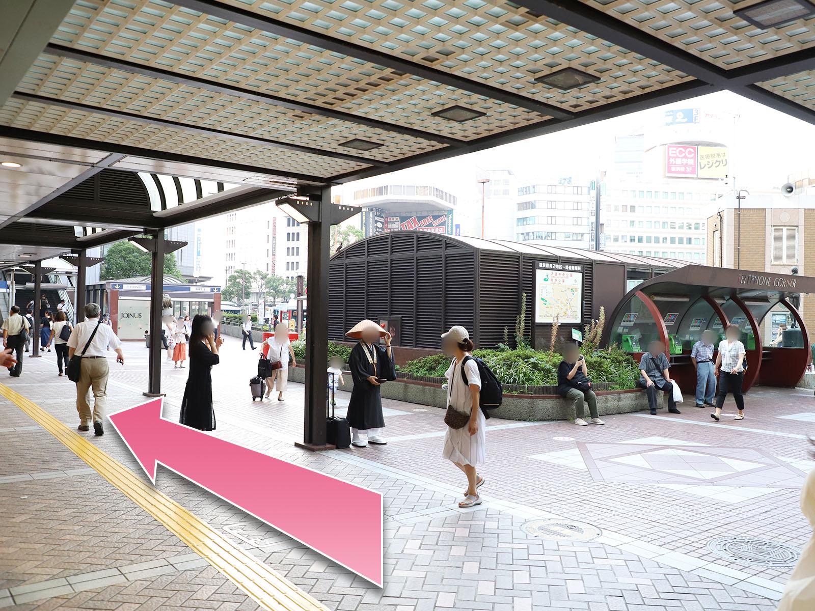 東京中央美容外科横浜院相鉄線ルート03