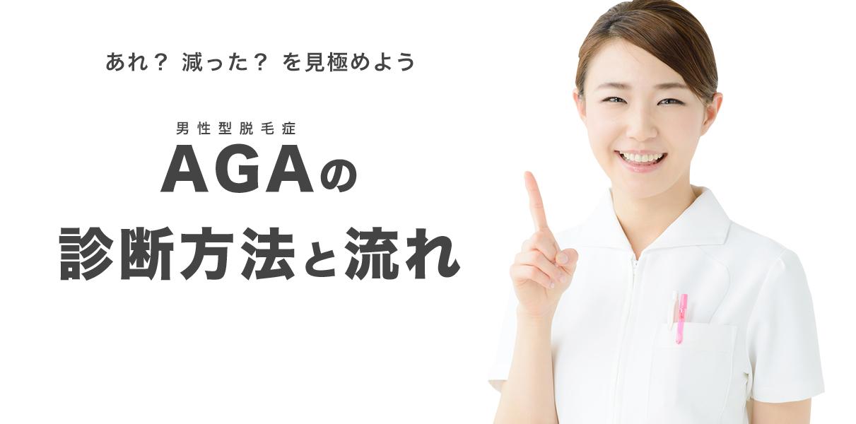 AGAの診断方法と流れ